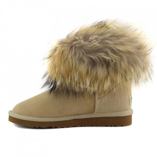 ❎ Женские угги UGG Fox Fur Sand