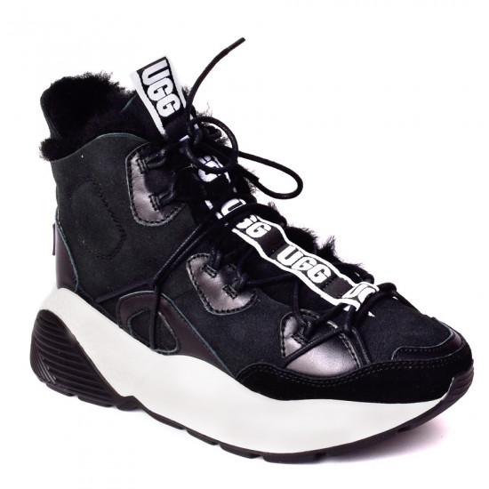 ❎ Женские ботинки UGG Cheyenne Trainer Black